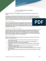 Managing Risk in a Social Media-Driven Society