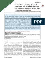 Artículo Extracción de RNA de Microalgas