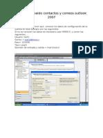 Manual de Respaldo Outlook 2007 Correos Contactos