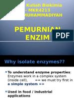 Pemurnian Enzim