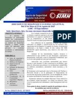 Informacion Seminario Seguridad e Higiene 2015