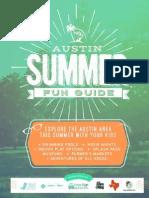 2015 Austin Summer Fun Guide