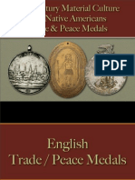 Native Americans - Trade & Peace Medals