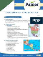 Geog Sem 16 Continentes - Geopolítica