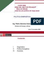 Cade2008 -Reforma Sec Privado Pedro Sanchez