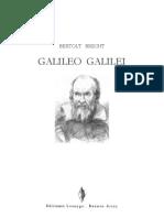 Bertolt Brecht - Galileo Galilei