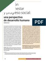 Medición Del Bienestar y Progreso Social