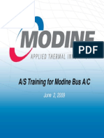 MODINE Service Training -
