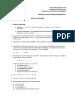 Guía de Ejercicios n4 Metodos cuantitativos UBa 2015