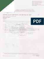 PMR 2007 Bahasa Iban