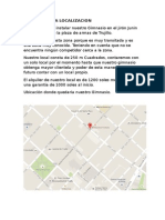 Analisis de La Localizacion