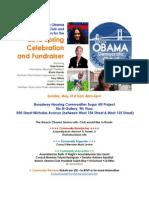 7th anual Obama Dem Club Fundraiser