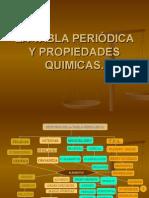 La Tabla Periódica y Propiedades Químicas