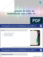 Preocupações do setor de Radiodifusão com a WRC-15