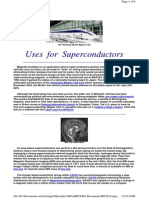 Supercond Uses