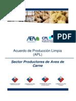 Acuerdo de Produccion Limpia Aves de Carne