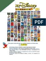 Nueva Colección Disney 2015 - 52 DVDs