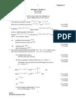Matematik Tambahan Kertas 2