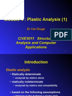 Plastic Analysis 1