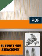 Aleaciones Del Zinc