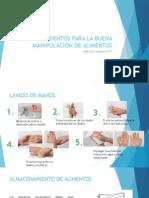 PROCEDIMIENTOS PARA LA BUENA MANIPULACIÓN DE ALIMENTOS.pptx
