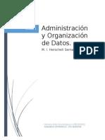 Administración y Organización de Datos