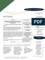 Boletin Informativo GRED-UNIBE (8-15 Febrero 2010)