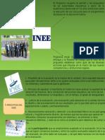 Principios del Instituto Nacional para la Evaluación de la Educacióm
