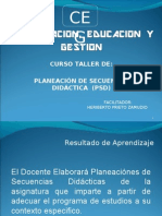 80527218 5 Curso de Planecion de Secuencia Didactica