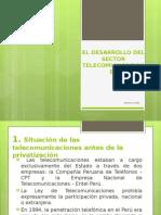 El Desarrollo Del Sector Telecomunicaciones