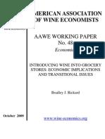 American Association of Wine Economists