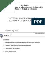 ACP 2015A - S2 Metodos Convencionales - Ciclo de Vida de Un Proyectos