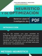 Método Heurístico y de Optimización