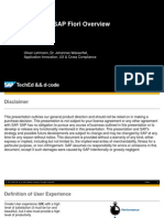 Uxp100 Sap Fiori Overview