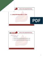 Material de Aula TOPAv ARQ Unidade 5 RISC CISC 2015 1