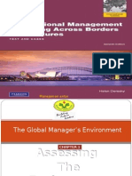 CHAP I the Global Manager's Environment