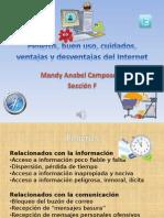PDF Peligros, buen uso, cuidados, ventajas y desventajas del Internet