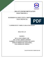 Reporte Práctica 5 - Puente H ConTransistor BJT