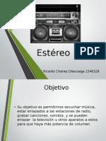 Estéreo electrodomestico