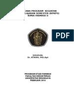 Rpkpskkimia Farmasi II Ab 2013-2014