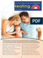Superstar Leaflet-Gas Ducted Heating