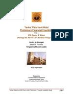 Hotels Pre Feasibilities