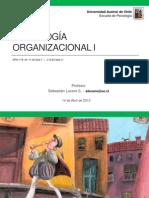 Psicologia Organizacional I - Liderazgo
