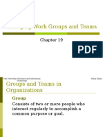 Chapter 19 Managing Work Groups and Teams.ppt