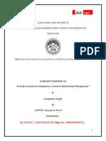 astudyoncustomersatisfactioncustomerrelationshipmanagement-111217113105-phpapp01