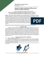Design & development of multi orientation drilling special purpose machine subsystem