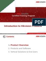 UK2 Hikvision UK Products Introduction HCSA