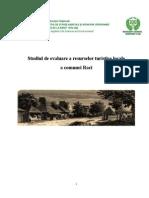 Studiul de evaluare a resurselor turistice locale