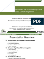 Implementation Methods for the European Day-Ahead Electricity Market Integration