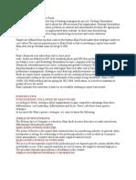 Strategy Formulation of Shan Foods